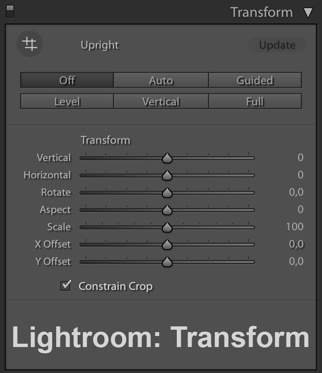 Lightroom and Camera Raw Guided Upright tool